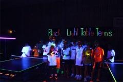 Black Light Table Tennis 2013